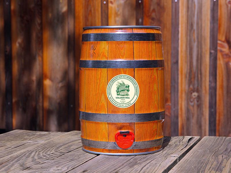 5-Liter-Bierfass