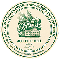 Vollbier hell