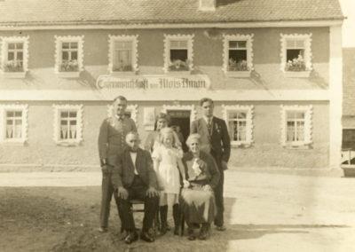 Historisches Familienfoto