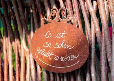 Zitat-Schild